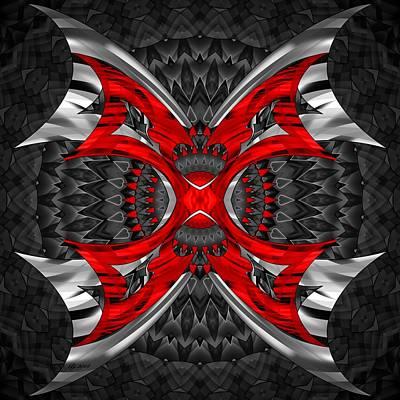 Digital Art - 2400 65 by Brian Johnson