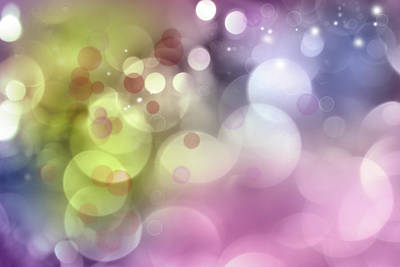 Colored Background Photograph - Abstract Background by Les Cunliffe