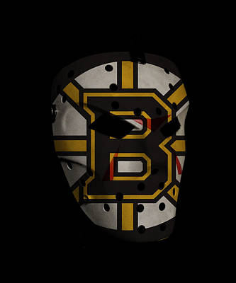 Boston Bruins Art Print by Joe Hamilton