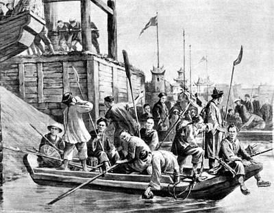Boxer Rebellion Drawing - China Boxer Rebellion by Granger