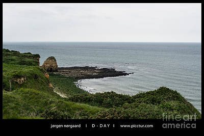 Photograph - D-day by Jorgen Norgaard
