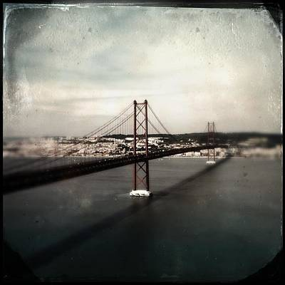 Photograph - 25 De Abril Bridge I by Marco Oliveira