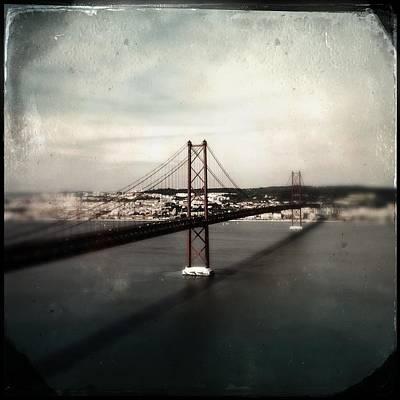 Photograph - 25 De Abril Bridge I by Marco Oliveira