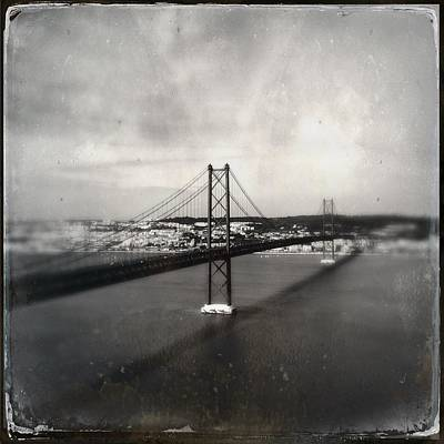 Photograph - 25 De Abril Bridge II by Marco Oliveira