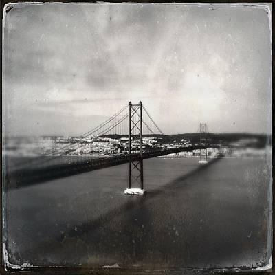 Photograph - 25 De Abril Bridge II by Marco Oliveira