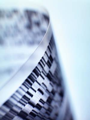 Dna Research Art Print by Tek Image