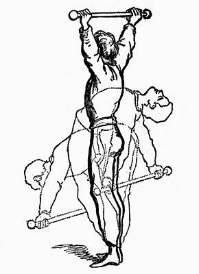 Pole Drawing - Exercise, 19th Century by Granger