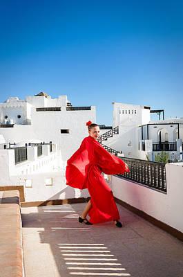 Beers On Tap - Flamenco dancer by Nikita Buida