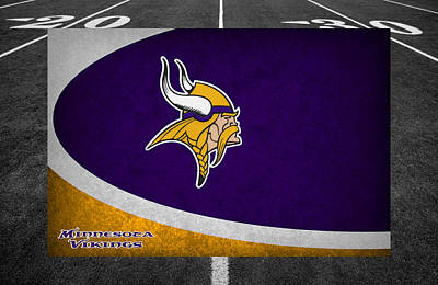 Minnesota Vikings Art Print