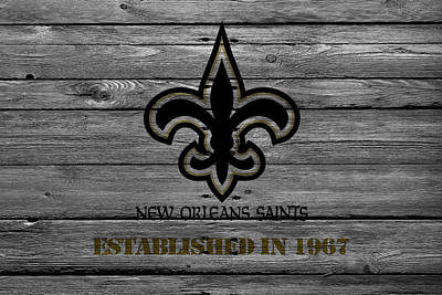New Orleans Saints Art Print