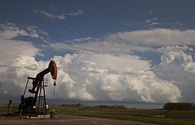 Prairie Storm Clouds Art Print