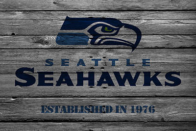 Seattle Photograph - Seattle Seahawks by Joe Hamilton