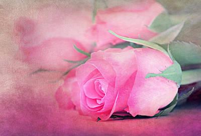 Flower Still Life Mixed Media - Still Life by Heike Hultsch