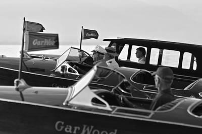 Photograph - Gallant Gar Wood by Steven Lapkin