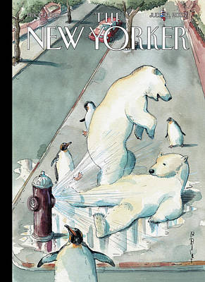Barry Blitt Painting - New Yorker July 23rd, 2007 by Barry Blitt