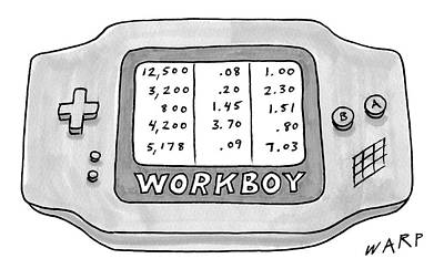 Kim Drawing - New Yorker September 4th, 2006 by Kim Warp