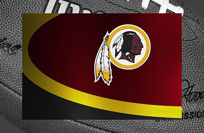 Pad Photograph - Washington Redskins by Joe Hamilton