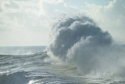 Photograph - Waves In The Pacific Ocean, San Pedro by Panoramic Images