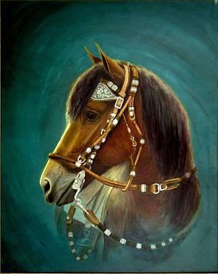 Peruvian Horse Painting - 251 Phf Ronaldo by Nadine Meade