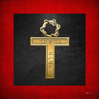 25th Degree Mason - Knight Of The Brazen Serpent Masonic Jewel  Original