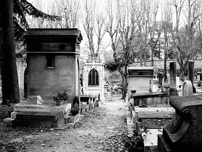 Priska Wettstein Pink Hues -  Pere-Lachais Cemetery In Paris France by Rick Rosenshein