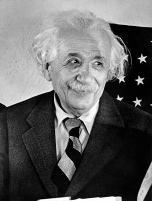 Albert Einstein Art Print by Emilio Segre Visual Archives/american Institute Of Physics