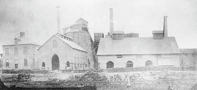 Blast Furnace Art Print by Hagley Museum And Archive
