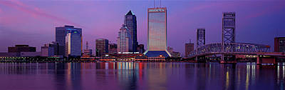 Florida Bridge Photograph - Buildings At The Waterfront by Panoramic Images