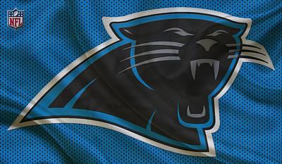 Carolina Panthers Art Print by Joe Hamilton