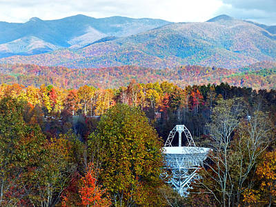 Photograph - 26 East Antenna And The Blueridge by Duane McCullough