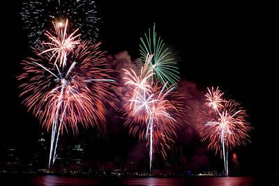 Fireworks Art Print by Gary Marx