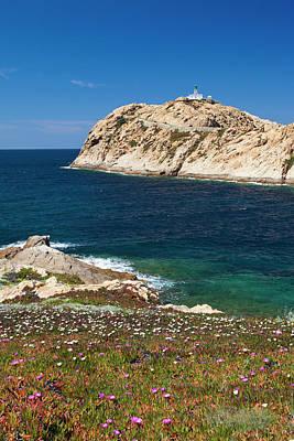 Southern Europe Photograph - France, Corsica, La Balagne, Ile by Walter Bibikow