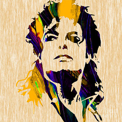Michael Jackson Art Print by Marvin Blaine