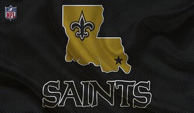 Orleans Photograph - New Orleans Saints by Joe Hamilton