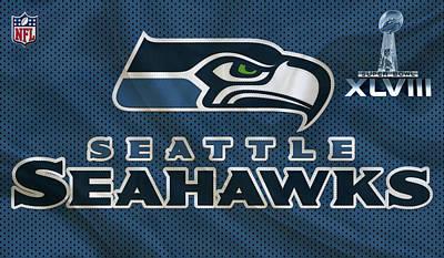 Seattle Seahawks Art Print by Joe Hamilton