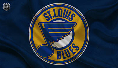 Skate Photograph - St Louis Blues by Joe Hamilton