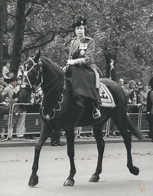 Trooping The Colour Ceremony Art Print by Retro Images Archive