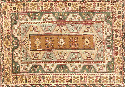 Tapestries Textiles Photograph - Turkish Carpet by Emirali  KOKAL