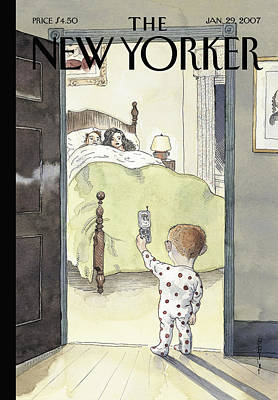 Barry Blitt Painting - New Yorker January 29th, 2007 by Barry Blitt
