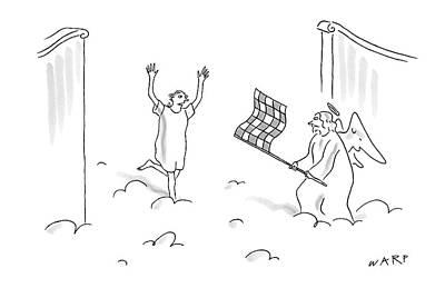 Kim Drawing - New Yorker May 7th, 2007 by Kim Warp