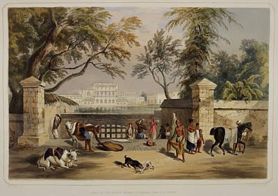 Views Of Calcutta And Its Environs Art Print