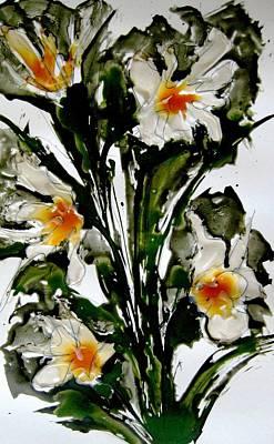 David Bowie - Heavenly Flowers by Baljit Chadha