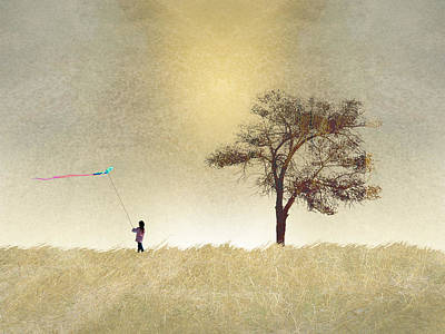 Kite Wall Art - Photograph - 2687 by Peter Holme III