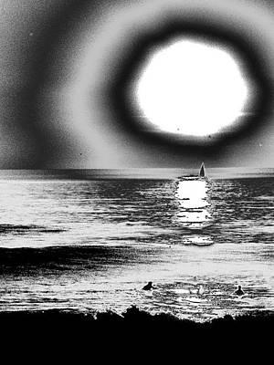 26th St Beach Original by Daniel Brodell-Lake