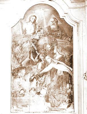 Abruzzo, Pescara, Penne, Madonna Del Carmine Art Print by Litz Collection