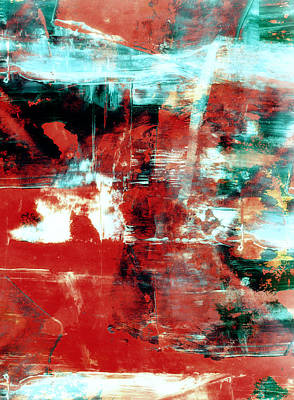 Distressed Painting - Abstract by Modern Art Prints
