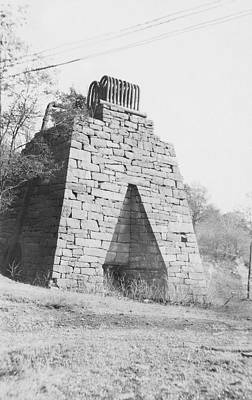 Eliza Photograph - Blast Furnace by Hagley Museum And Archive