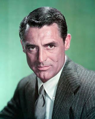 Photograph - Cary Grant by Silver Screen