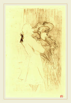 Lender Drawing - Henri De Toulouse-lautrec French, 1864-1901 by Litz Collection