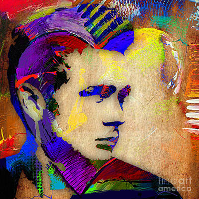 Movie Art Mixed Media - James Dean Collection by Marvin Blaine